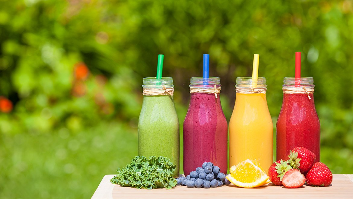 Healthy juices with therapeutic properties