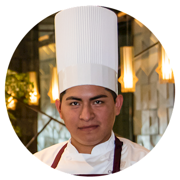 Chef Nicolás Sánchez Aurelio