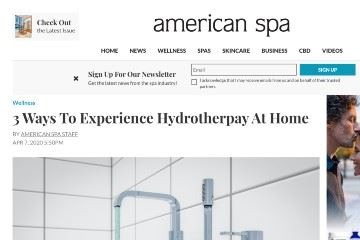 americanspa Hydrotherpay At Home