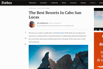 The Best Resorts In Cabo San Lucas