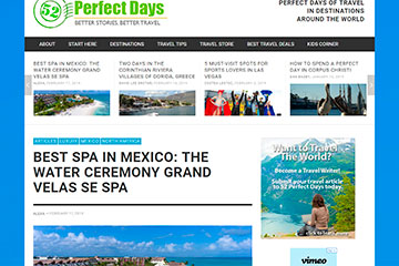 BEST Spa IN MEXICO: THE WATER CEREMONY GRAND VELAS SE Spa
