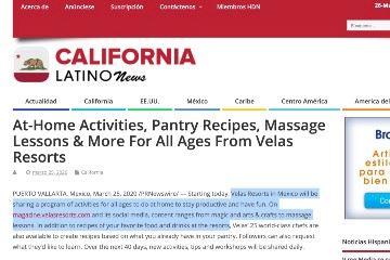 californialatinonews At Home Activities