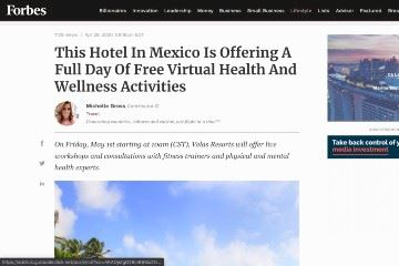 forbes wellnessing online