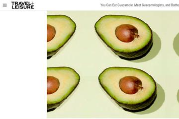 You Can Eat Guacamole, and Bathe in Avocado at 'Guacamania'