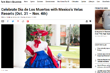 Celebrate Día de los Muertos with Mexico´s Velas Resorts (Oct.31 - Nov. 4th)