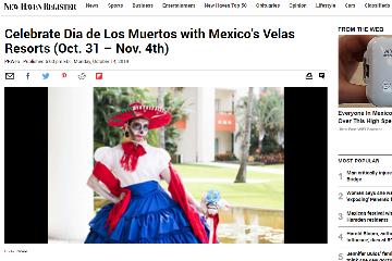 Celebrate Día de los Muertos with Mexico´s Velas Resorts (Oct.31 - Nov. 4th)