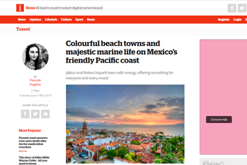 Colourful beach towns and majestic marine life on Mexico's friendly Pacific coast