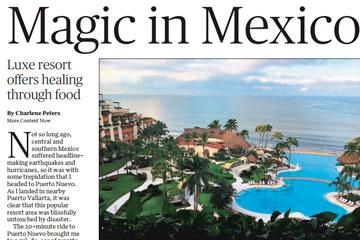 Luxe resort offers healing through food