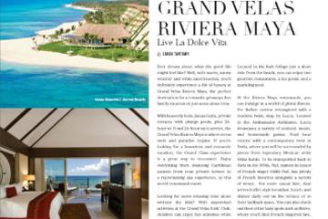 Grand Velas Riviera Maya Live La Dolce Vita