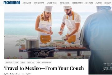 recommend Travel to Mexico From Your Couch