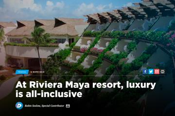 At Riviera Maya resort, luxury is all-inclusive