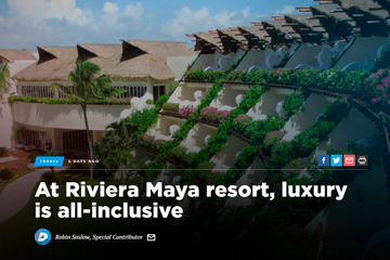 At Riviera Maya resort, luxury is all-inclusive