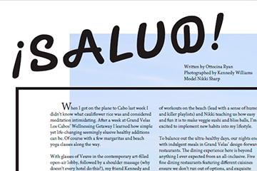 A week of wellness at Grand Velas Los Cabos