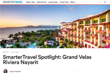 SmarterTravel Spotlight: Grand Velas Riviera Nayarit
