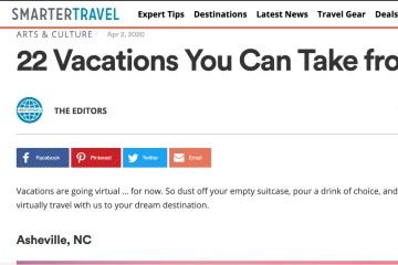 smartertravel 22 Vacations You Can Take from Home
