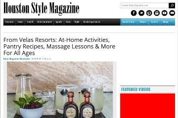 stylemagazine From Velas Resorts At-Home Activities