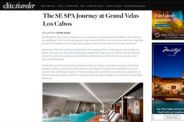The SE Spa Journey at Grand Velas Los Cabos