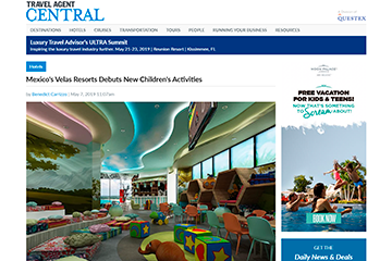 Mexico's Velas Resorts Debuts New Children's Activities