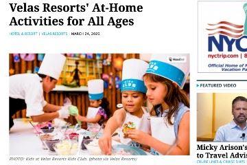 travel pulse velas resorts at home