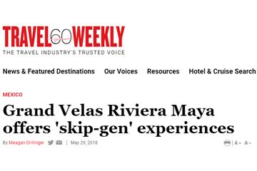 Grandparents and grandkids can reconnect at Grand Velas Riviera Maya