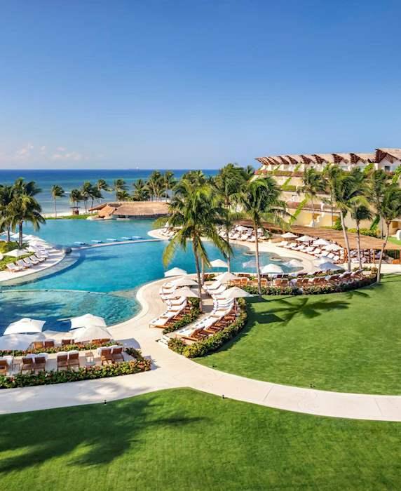 A Luxury Riviera Maya Resort On Mexico's Caribbean Sea